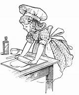 Baking Coloring Baker Cooking Cake Recipes Kitchen Cakes Digital Adult Recipe Colouring Cookie Bake Mom Tuesday Chef Lots Adults Icolor sketch template