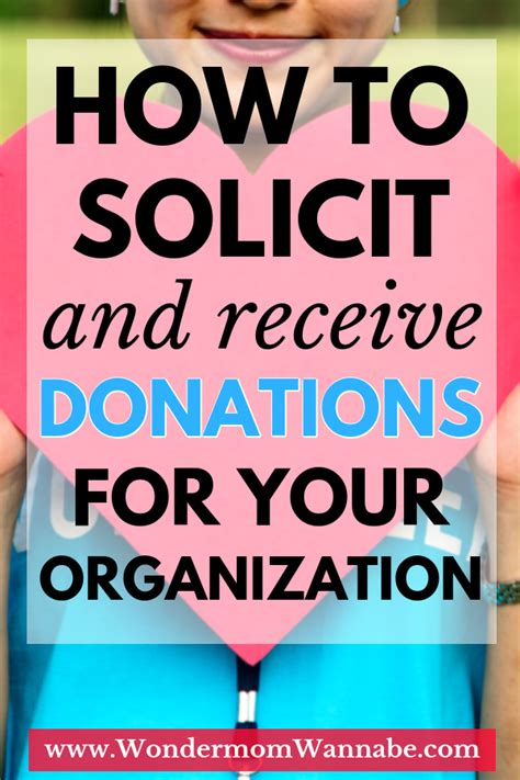 Anything you want that is related to your message message: How to Solicit Donations for Your Organization Stepbystep ...