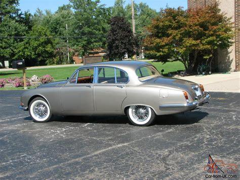 1965 S-type Jaguar Saloon 4 Door Classic With Right Hand