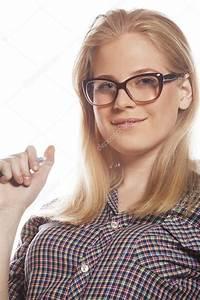 Hübsche 12 Jährige Mädchen : junge h bsche m dchen teenager in der brille auf wei en isoliert blondes haar moderne hipster ~ Eleganceandgraceweddings.com Haus und Dekorationen