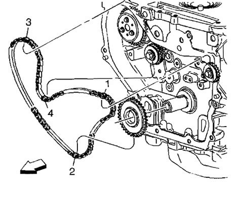 How Line The Oil Pump Chain Pontiac