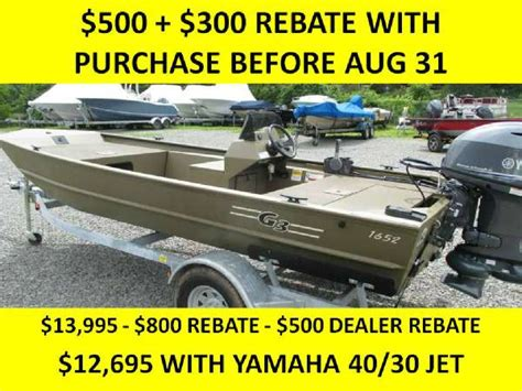 G3 Boats Sc by G3 1652 Sc Boats For Sale