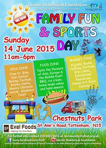 london family fun sports day With sports day poster template
