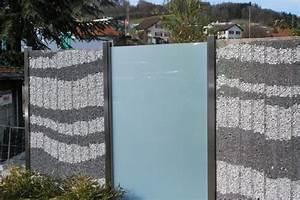 Zaun Aus Glas : z une und sichtschutz ~ Michelbontemps.com Haus und Dekorationen