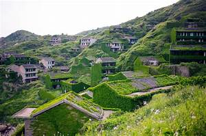 An aerial tour of an abandoned chinese fishing village by for Abandoned chinese fishing village by joe nafis