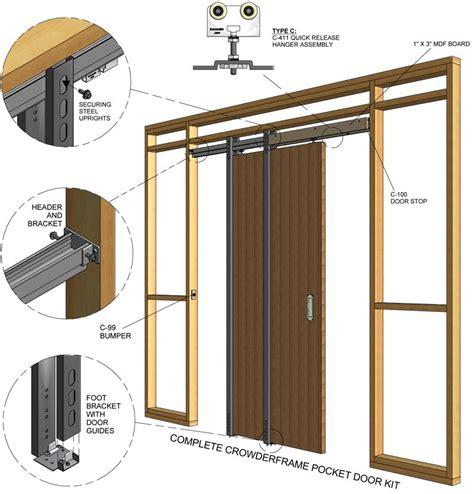 pocket door install progects pocket doors pocket door