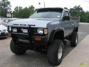 1990 Nissan Hardbody Truck Regular Cab 4x4 In Winter Blue Metallic Photo  3