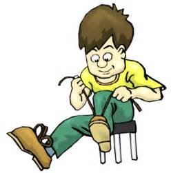 Putting On Shoes Clip Art