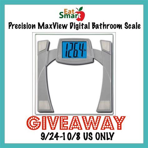 Eatsmart Digital Bathroom Scale Australia by Eatsmart Digital Bathroom Scale Giveaway