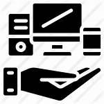 Devices Premium Icon Solid Icons