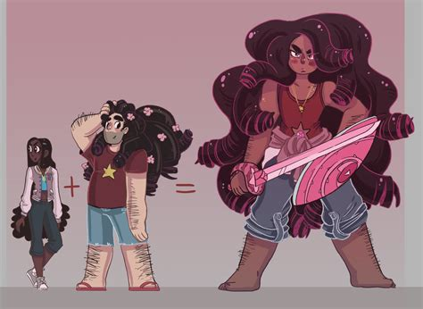 Adult Stevonnie A Gorgeous Beefcake With Luscious Curls