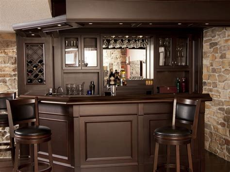 Custom Home Bars by Basement Bar With Granite Custom Home Bars