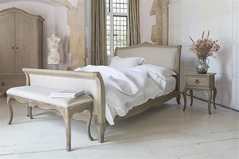 Camille French Style Upholstered Bed
