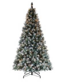 7 prelit frosted pine christmas tree at menards 174