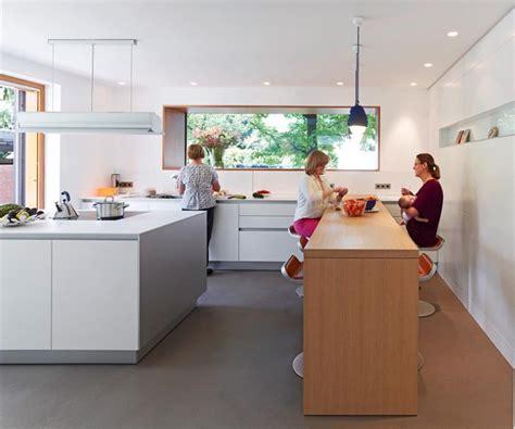 moderne küchen schöner wohnen k 252 che schmale ideen