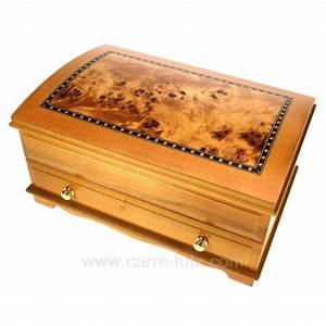 Coffre à Bijoux Bois : coffret bijoux et boite bijoux en bois ~ Premium-room.com Idées de Décoration