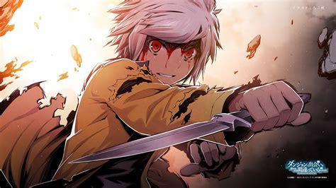 anime fight boy most epic anime fights 1 danmachi bell vs minotaur