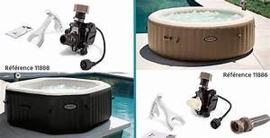 Filtre Spa Intex : entourage spa intex simple best spa gonflable intex ~ Voncanada.com Idées de Décoration