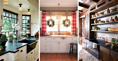 country kitchen styles ideas 23 best rustic country kitchen design ideas and 6148