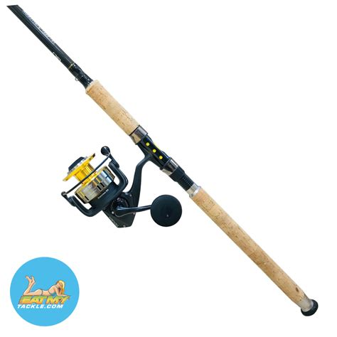 rod snapper reel saltwater spinning fishing combos combo fish grouper eatmytackle capacity