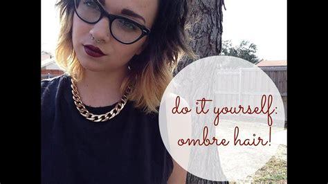 ombre hair  short hair youtube
