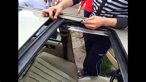 Reparaci U00f3n Sunroof  Quemacocos  Mercedes Benz W124 W126