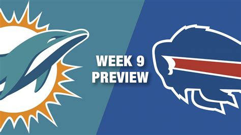 dolphins  bills preview week  nfl youtube