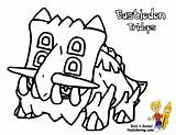 Pokemon Bastiodon Coloring Colouring Pages Welder Skull Diamond Turtwig Cherrim Template Boys Yescoloring Bodacious Pearl sketch template