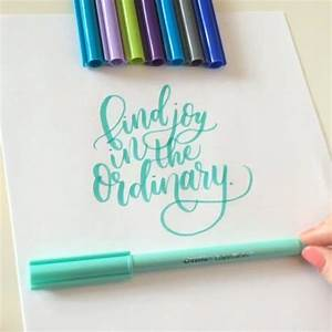 158 best images about inspirational quotes on pinterest With brush lettering markers