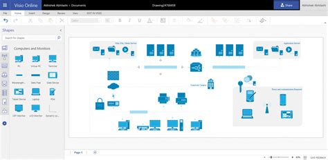 visio network diagram templates extend diagramming to it with network diagrams in visio microsoft tech community 150406