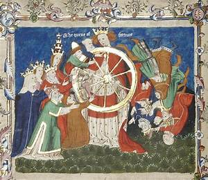 Medieval Wheel Of Fortune