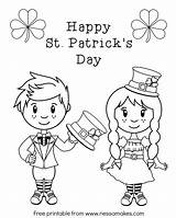 Coloring Pages Patrick Irish St Leprechaun Printable Patricks Female Adults Printables Happy Drawing Sheet Getcolorings Leprechauns Getdrawings Patty Downloads Popular sketch template