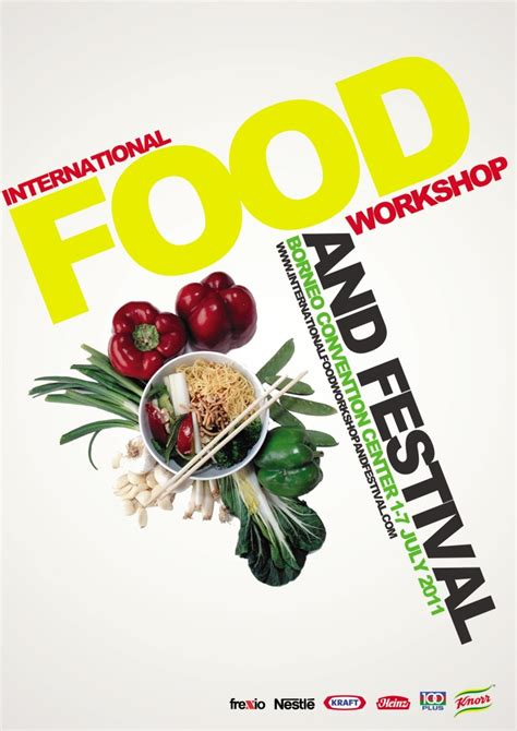 poster cuisine concept of international food event poster by frendy