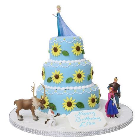 how to set up a letter frozen fever elsa s birthday cake birthday cakes the 49582