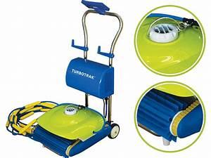 Robot Piscine Electrique : robot piscine kokido turbotrak avec chariot achat ~ Melissatoandfro.com Idées de Décoration