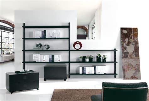 libreria scaffali libreria scaffale design in acciaio bianco nero