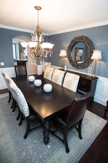 blue dining rooms sherwin williams foggy day is a