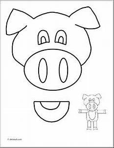 1000 images about paper bag puppets on pinterest paper With pig puppet template