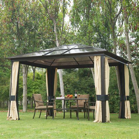 gazebo for ebay 12 x10 outdoor patio canopy gazebo shelter hardtop