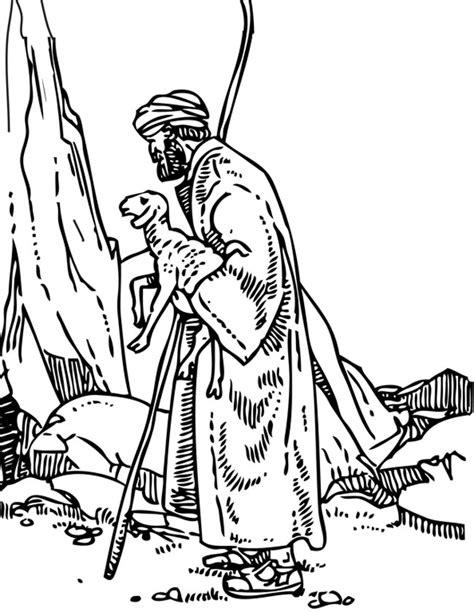 Jezus Goede Herder Kleuters Kleurplaat by Kleuren Nu De Goede Herder Kleurplaten
