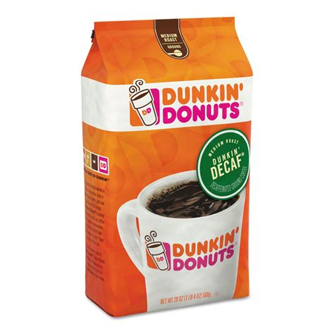 It's a common misconception that dunkin' is famous and beloved for their donuts. Original Blend Coffee by Dunkin Donuts® FOL00679   OnTimeSupplies.com
