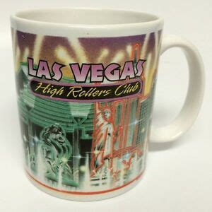 7 days a week family owned breakfast and lunch cafe located in small town boulder city right outside las vegas and a couple minutes from hoover dam/lake mead. Las Vegas Lights High Rollers Club Coffee Mug Cup New York ...