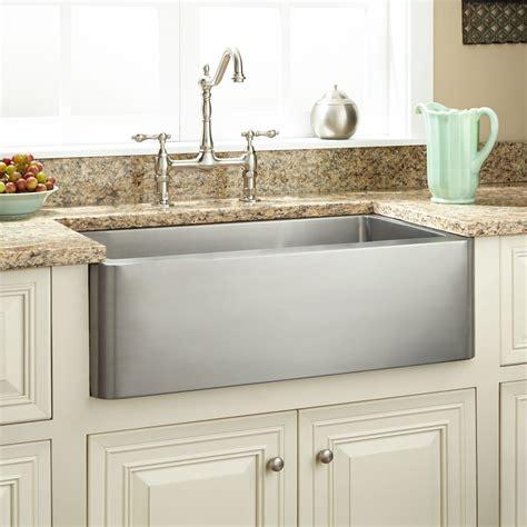 27 Hazelton Stainless Steel Farmhouse Sink Kitchen