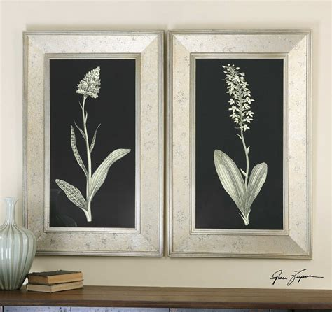 Uttermost Wall Pictures by Uttermost Antique Floral Study Framed Wall 2