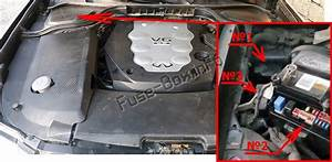 Fuse Box Diagram Infiniti M35  M45  Y50  2006