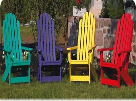 shop outdoor furniture colorful adirondack chairs patio
