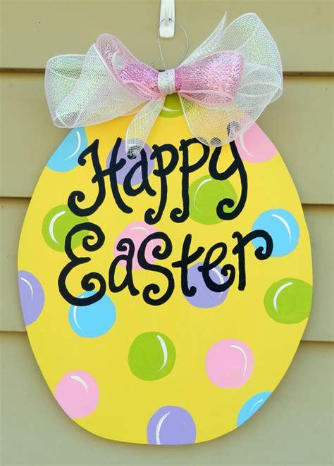 easter egg door hanger pictures   images