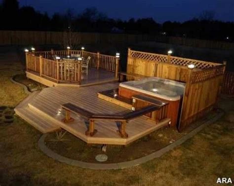 59 best images about tub deck ideas on