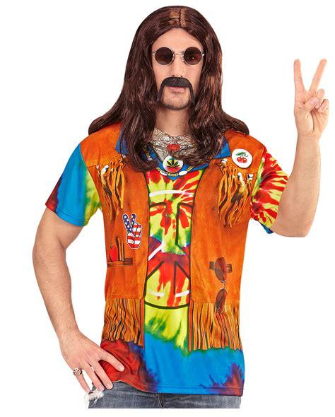 hippie t shirt selber machen hippie mann t shirt f 252 r fasching horror shop