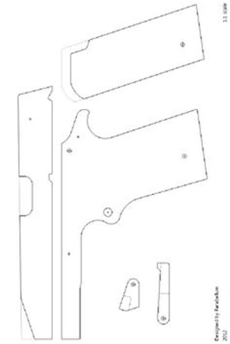 rubber band gun template m9 semi auto rubber band gun construction manual http www